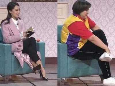 杨幂翘个二郎腿都和刘恺威脱不了干系 杨幂坐刘恺威腿