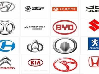 xFF0C;109个标志你能认出30个& 轿车标志
